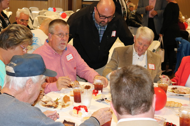 Duckworth, Lewis and Lancaster at Bladen County Politicians Appreciation Day