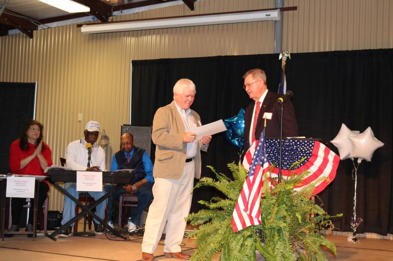 Ken Waddell at Bladen County Politicians Appreciation Day
