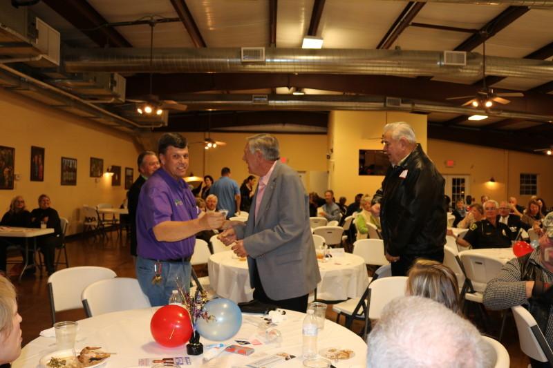 Brisson, Smith, Taylor and Ludlum at Bladen County Politicians Appreciation Day