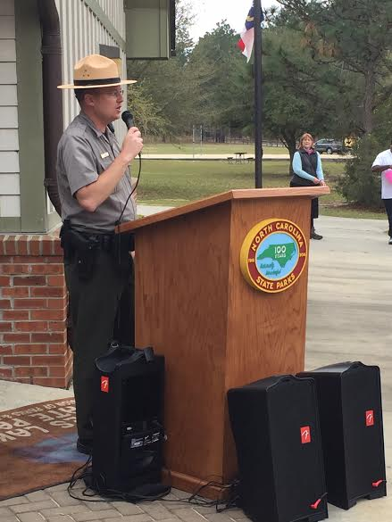 Jones Lake State Park holds Easter Egg Hunt, marks state parks centennial 1