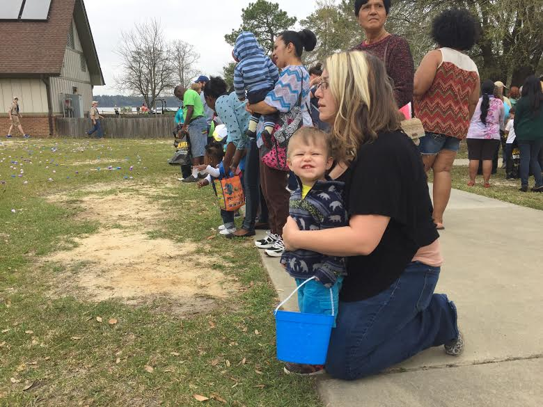 Jones Lake State Park holds Easter Egg Hunt, marks state parks centennial 5