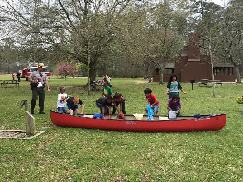 Jones Lake State Park holds Easter Egg Hunt, marks state parks centennial 8