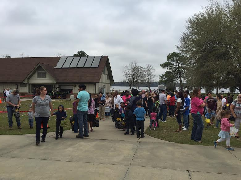 Jones Lake State Park holds Easter Egg Hunt, marks state parks centennial