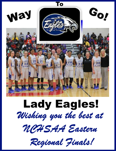 Lady Eagles Regional Finals ad