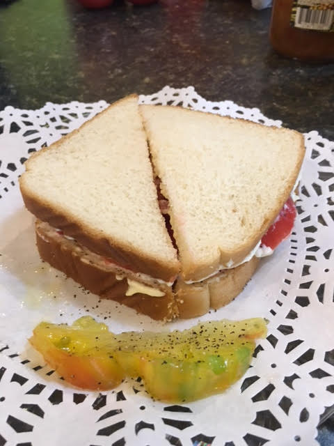 Tomato Sandwich Day at Lu Mil