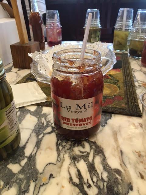 Tomato Sandwich Day preserves