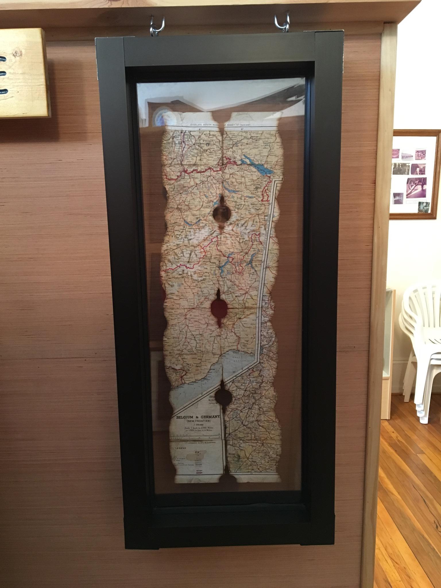 Burned map