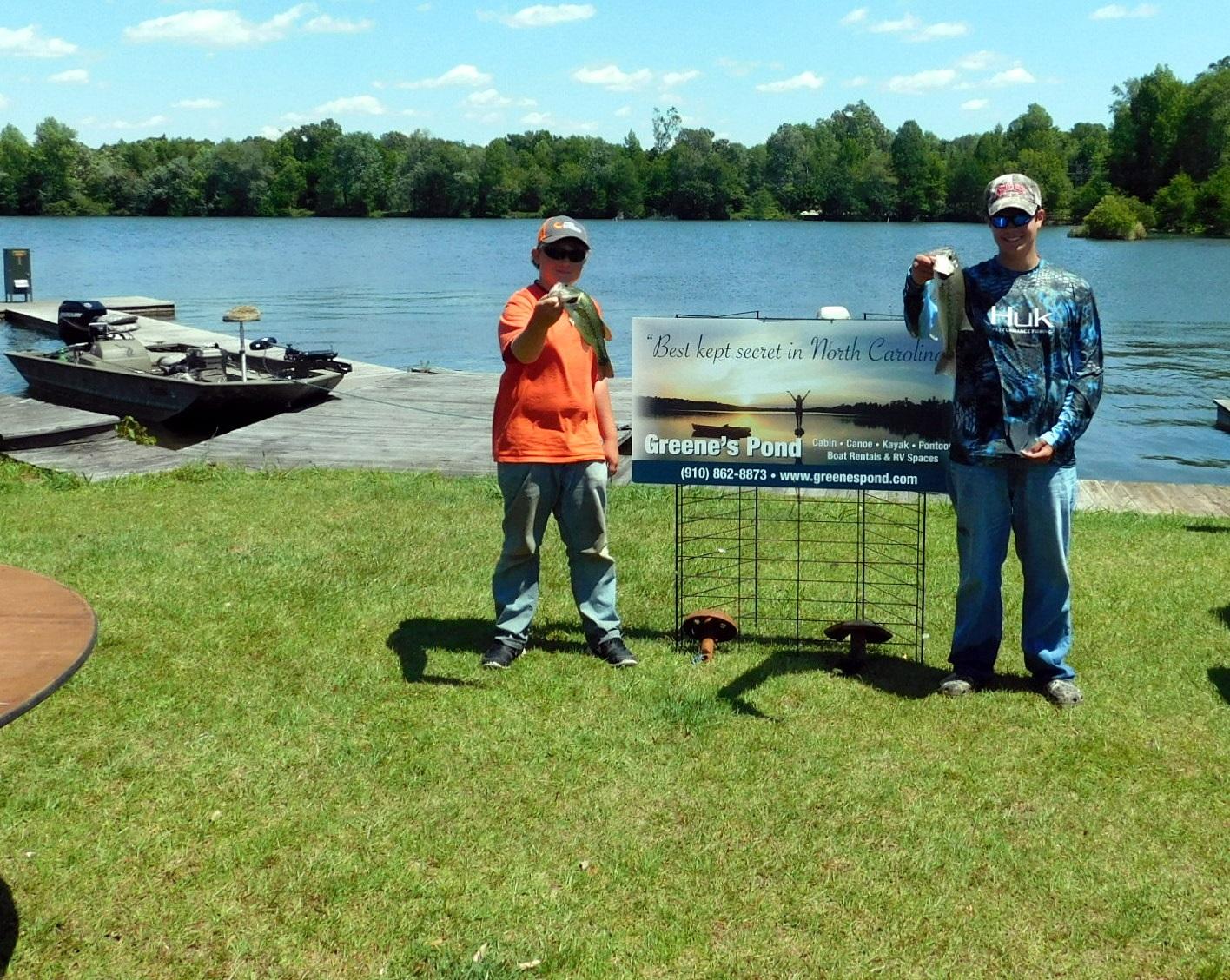 Greene s pond open bass tournament a success for Open bass fishing tournaments