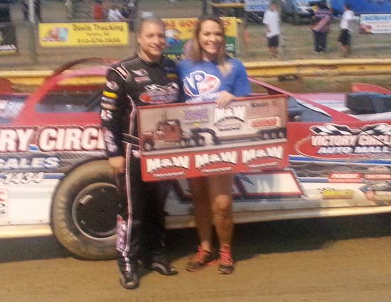 Rattlesnake Rumble pole winner G.R. Smith