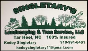 Singletary's Lawn Care