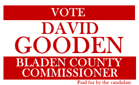 David Gooden Front of card