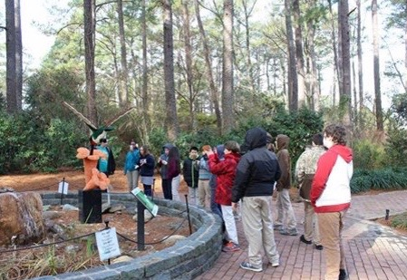 Yesterday The Elizabethtown Christian Academyu0027s Middle School Took A Chilly  Tour Of The Cape Fear Botanical Gardens In Fayetteville To View The  Incredible ...