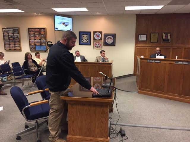 Commissioners hear Hurricane Matthew update