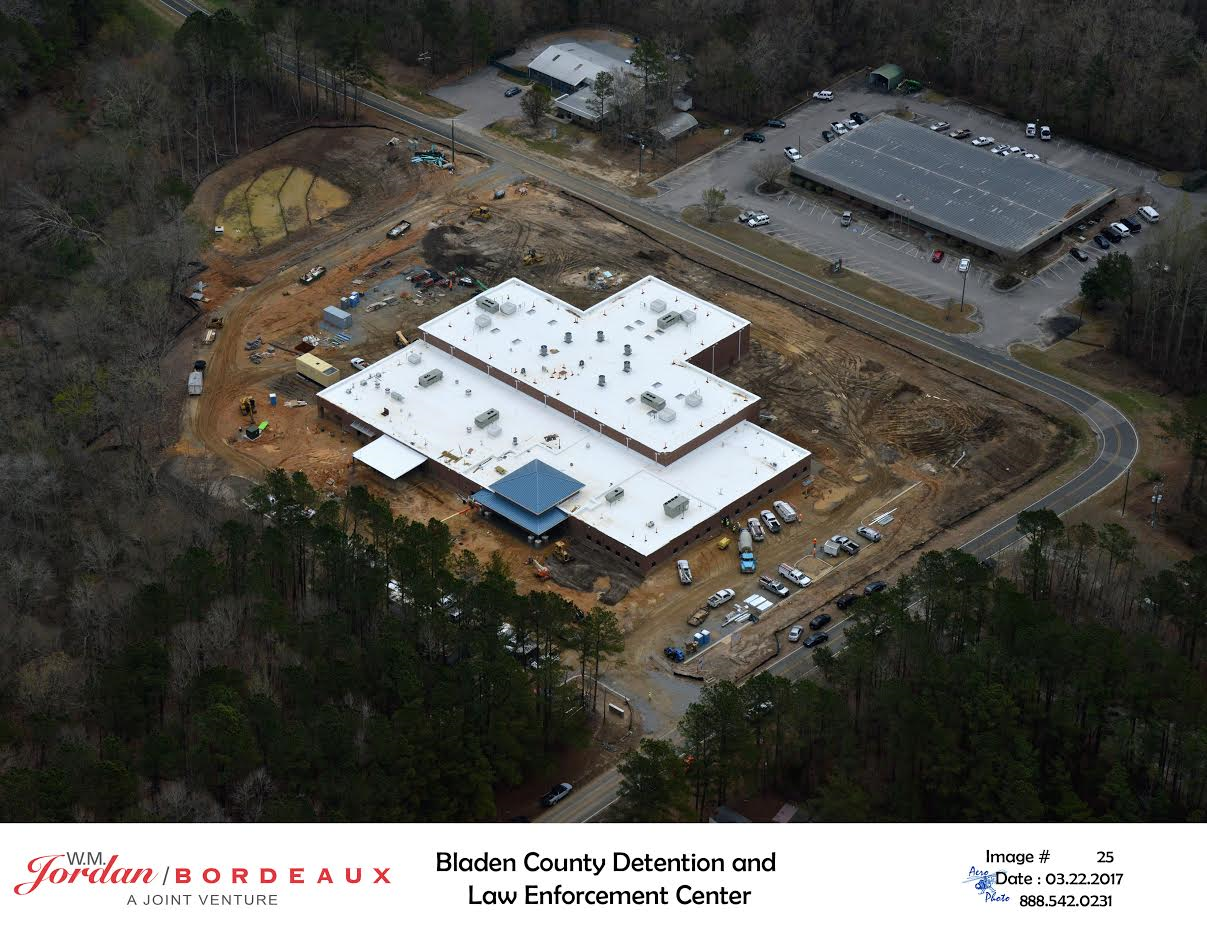 New construction project for Bladen County Dentition Center