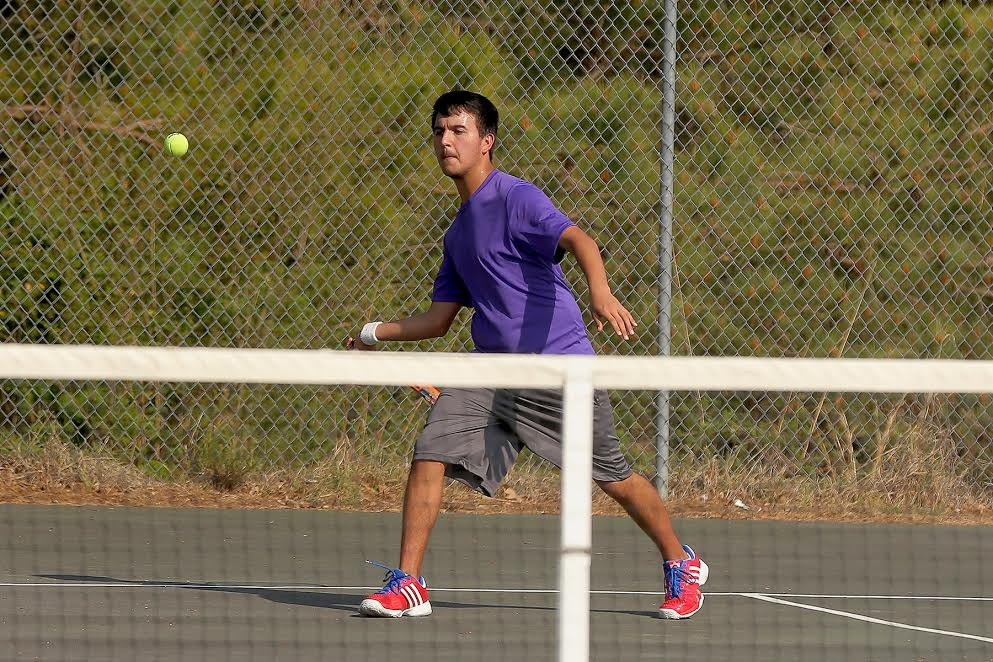 West vs East boys tennis 5