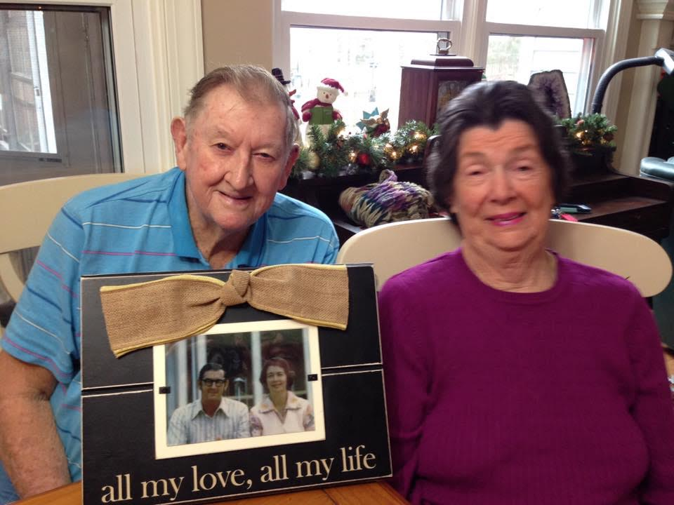Lyn & Lola Johnson of Bladenboro, celebrated 60 years on April 18th 2017.