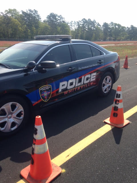 Whiteville Police training in Bladen County 4