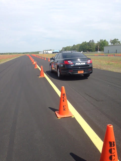 Whiteville Police training in Bladen County