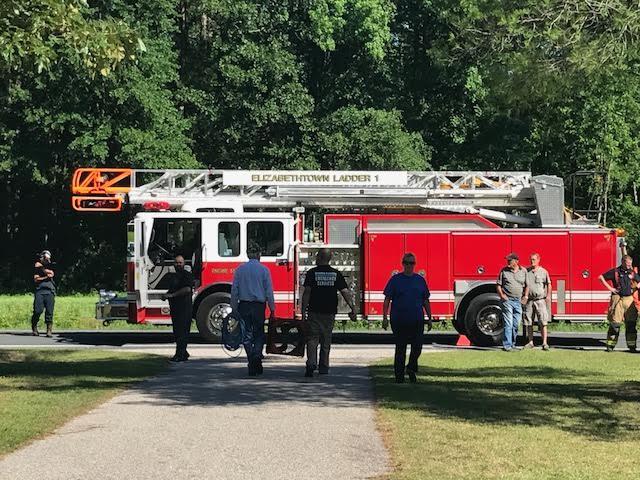 Whites Creek Parsonage fire in Clarkton 4