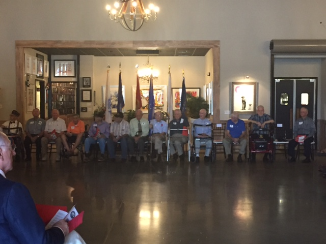 World War II Veterans honored and remembered today and always