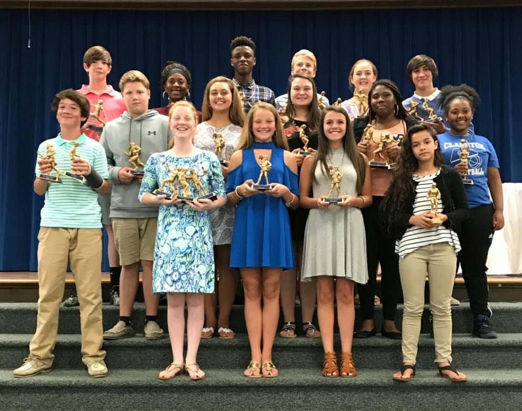 clarkton school of discovery athletic award winners bladenonline com