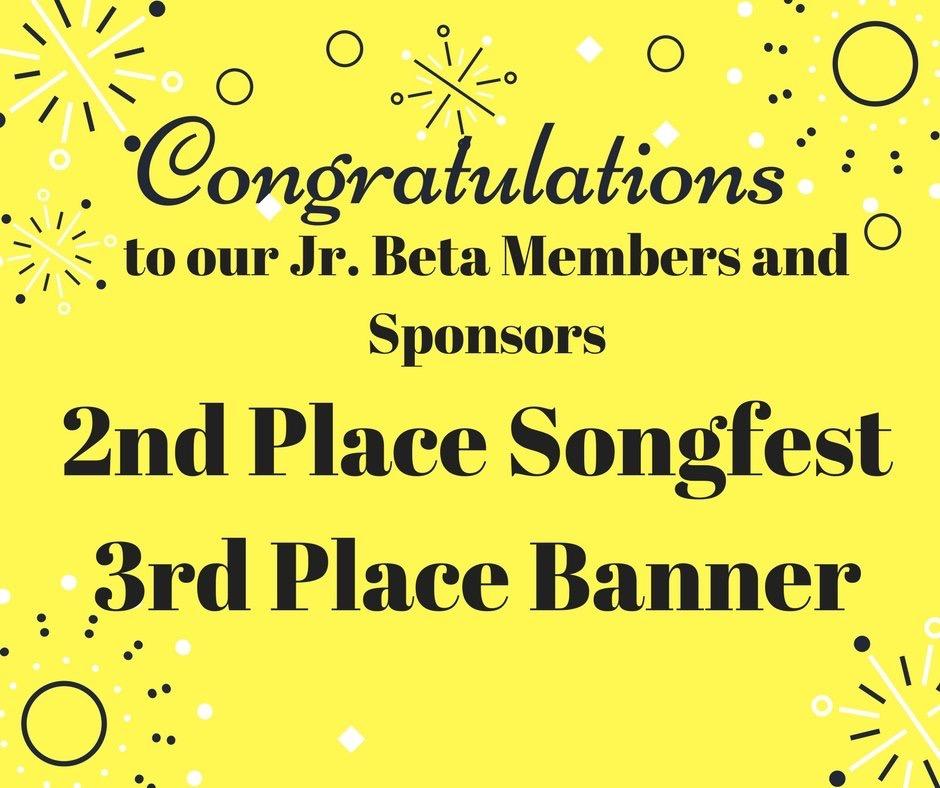 CSD Jr Beta Congrats