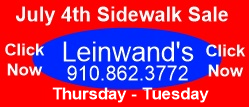 Leinwands small banner 4th of July ad