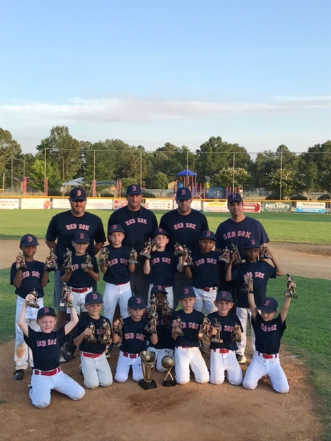 Red Sox Win Elizabethtown Dixie Youth Coach-Pitch