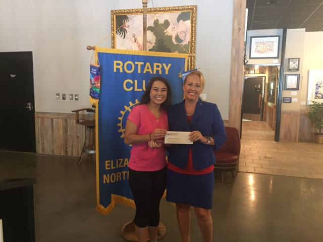 Rotary Scholarship Jacqueline Madden