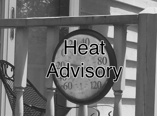 Heat Advisory Issued for Bladen County for Sunday