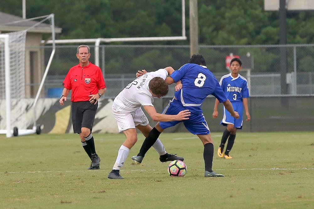 East Bladen v Midway Soccer 5