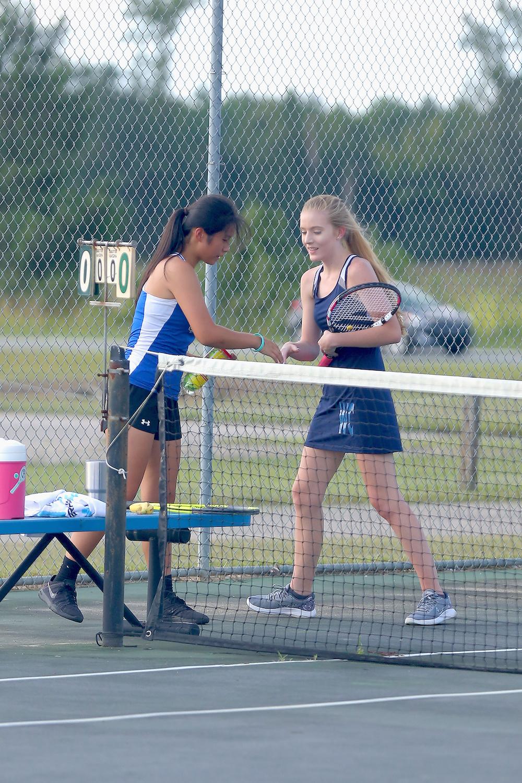 East Bladen v West Columbus Tennis 2017 8