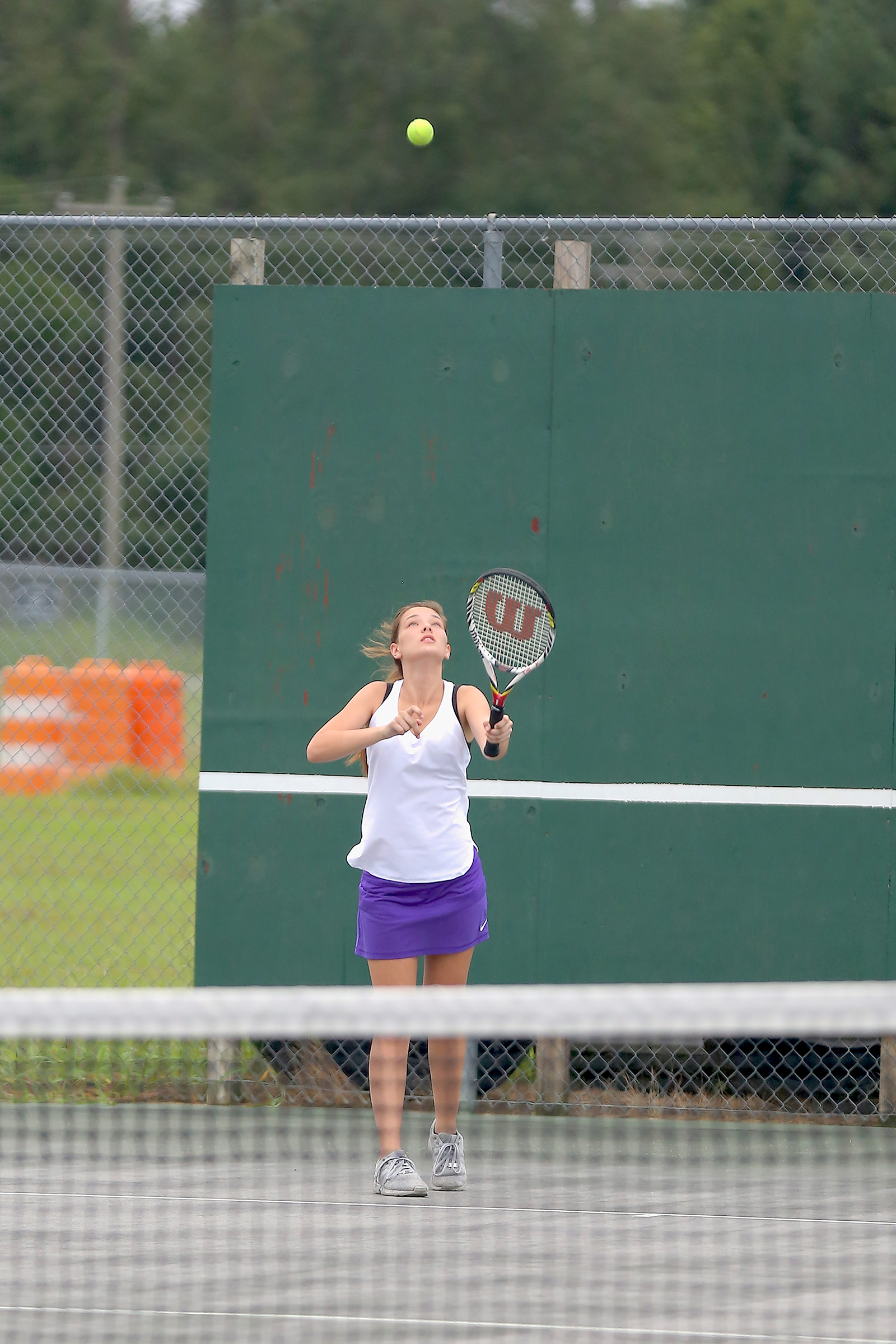 East Columbus v West Bladen 2017 Tennis 4