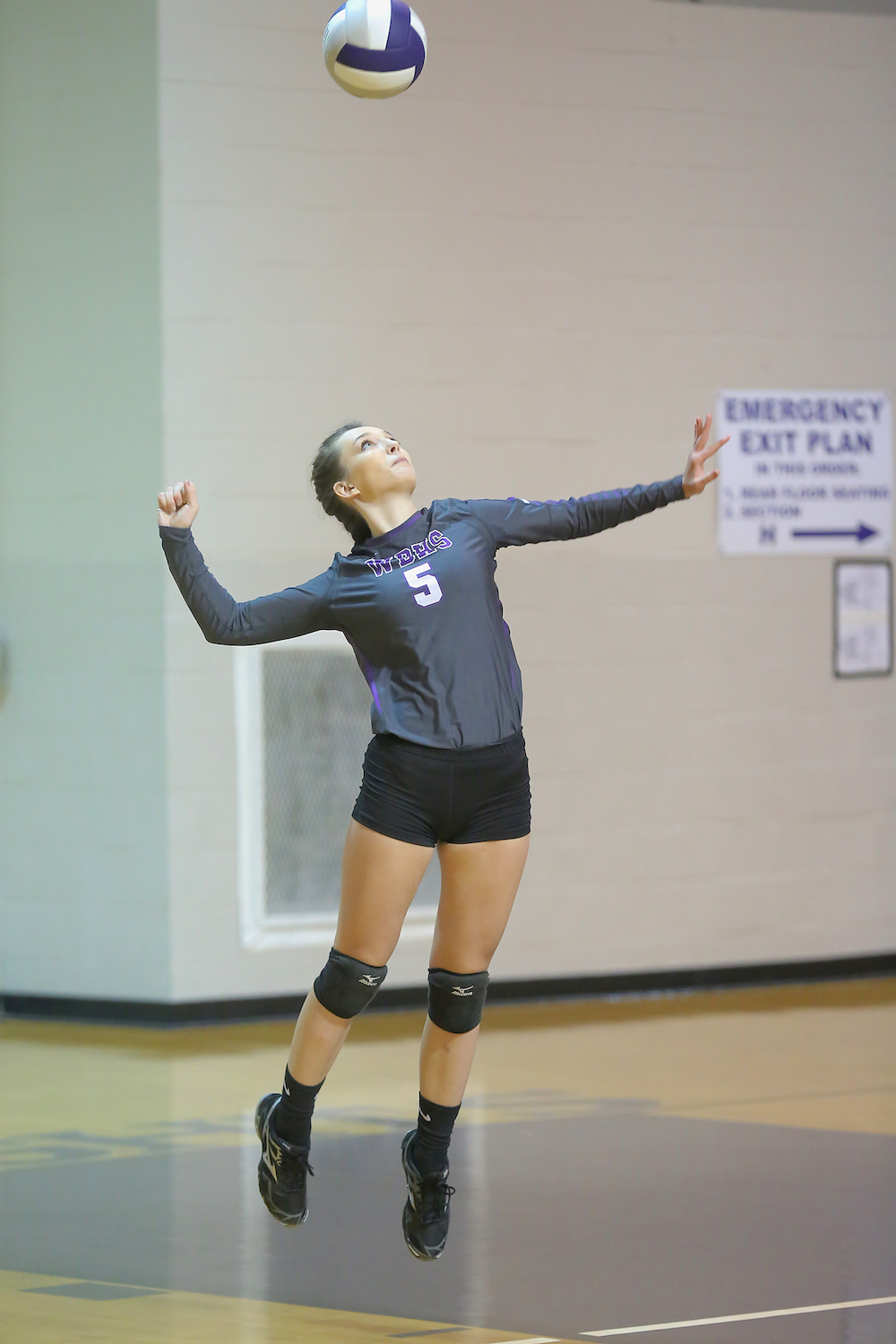 East Columbus v West Bladen volleyball 2017 1