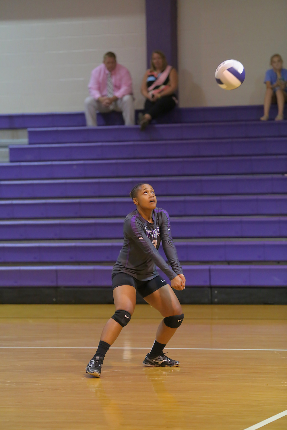 East Columbus v West Bladen volleyball 2017 2