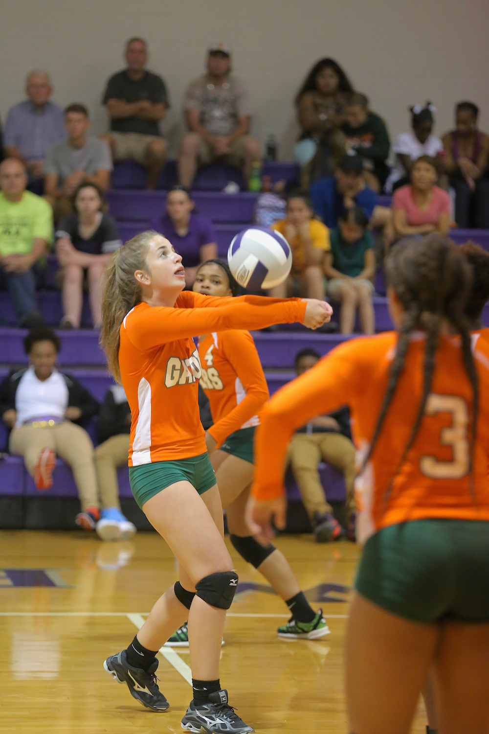 East Columbus v West Bladen volleyball 2017 3
