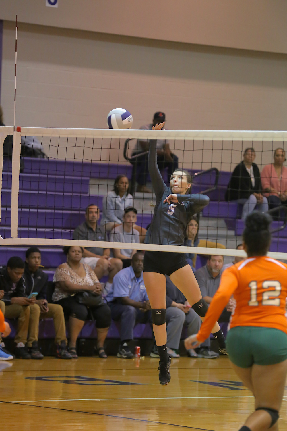 East Columbus v West Bladen volleyball 2017 5