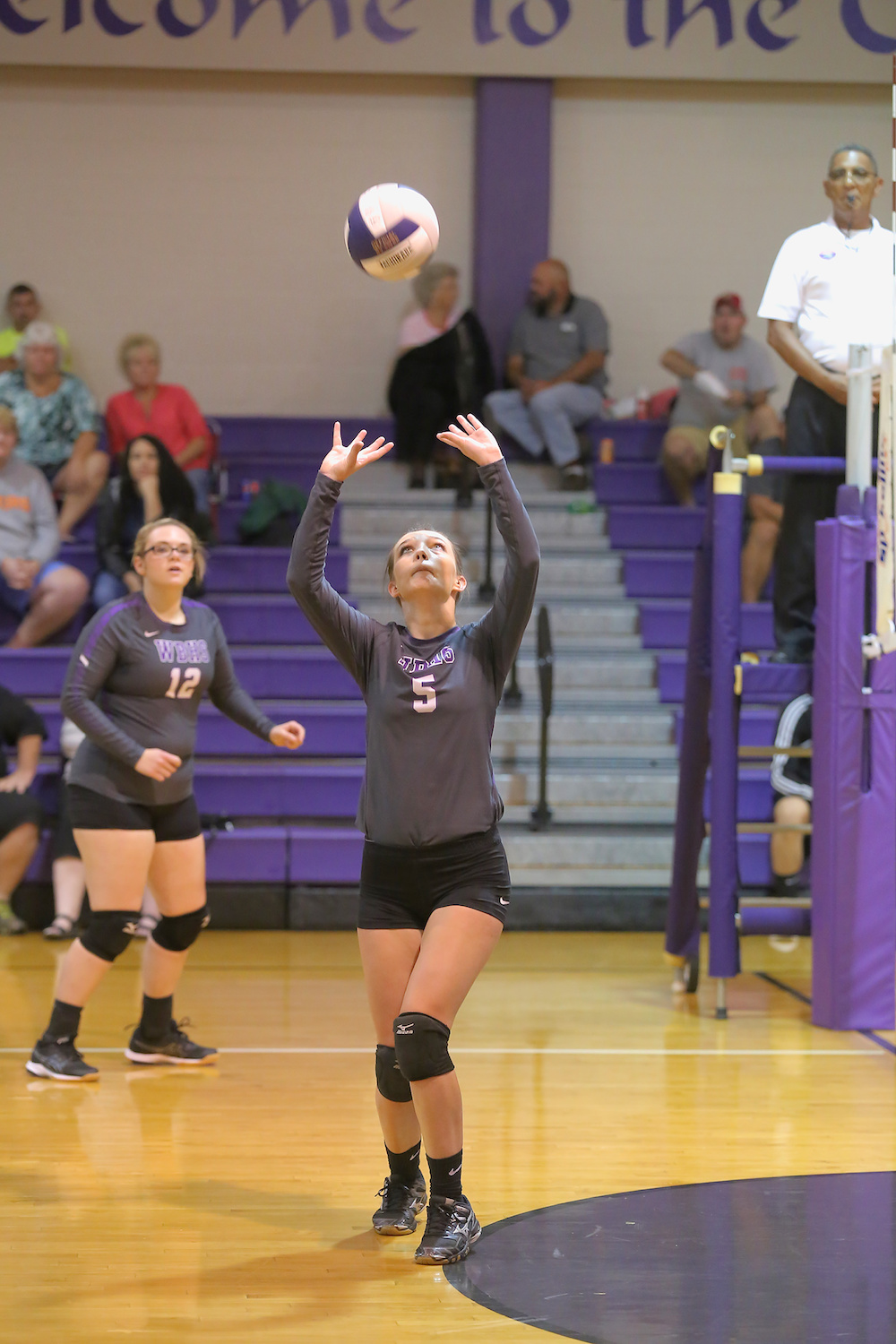 East Columbus v West Bladen volleyball 2017 6