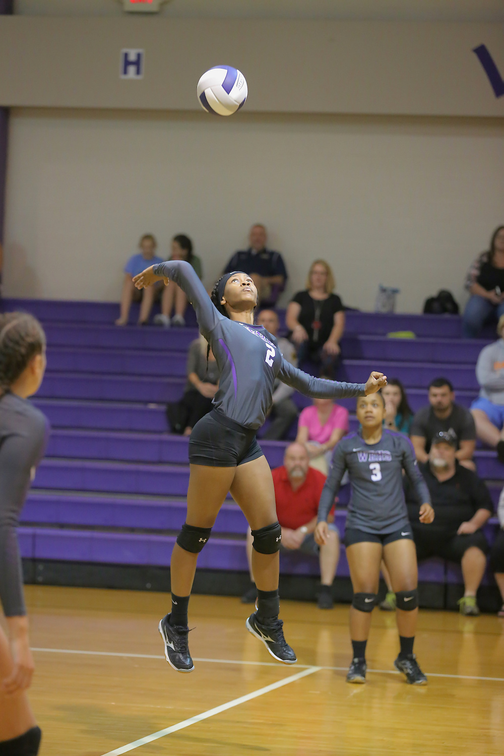 East Columbus v West Bladen volleyball 2017 7