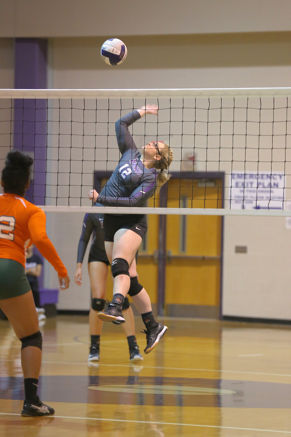 East Columbus v West Bladen volleyball 2017 8