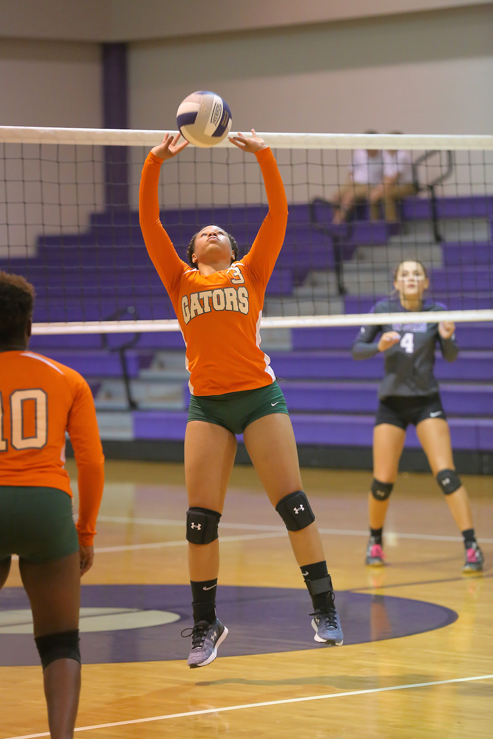 East Columbus v West Bladen volleyball 2017 9