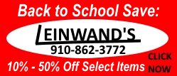 Leinwands Back to school small banner ad