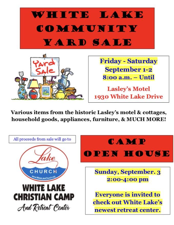 White Lake Youth Retreat Sale 7