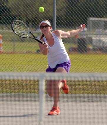 Tennis: West Bladen 8, East Bladen 1