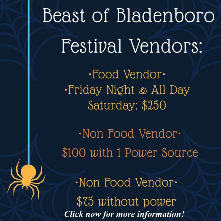 Accepting Vendors now