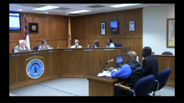 Superintendent Pitches School Construction/Consolidation plan to Bladen County Commissioners