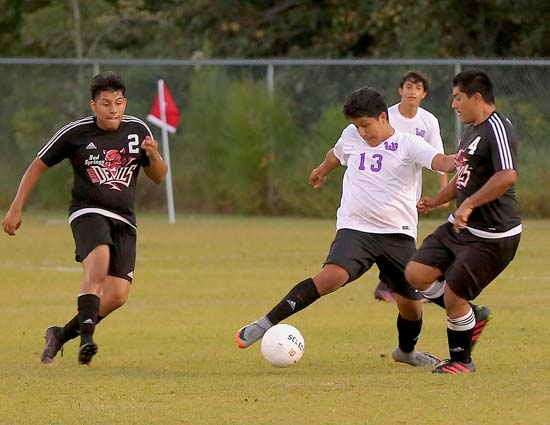 Soccer: West Bladen 3, Red Springs