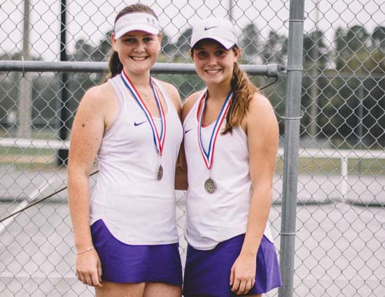 West Bladen Doubles Team Qualifies for State Tennis Tournament