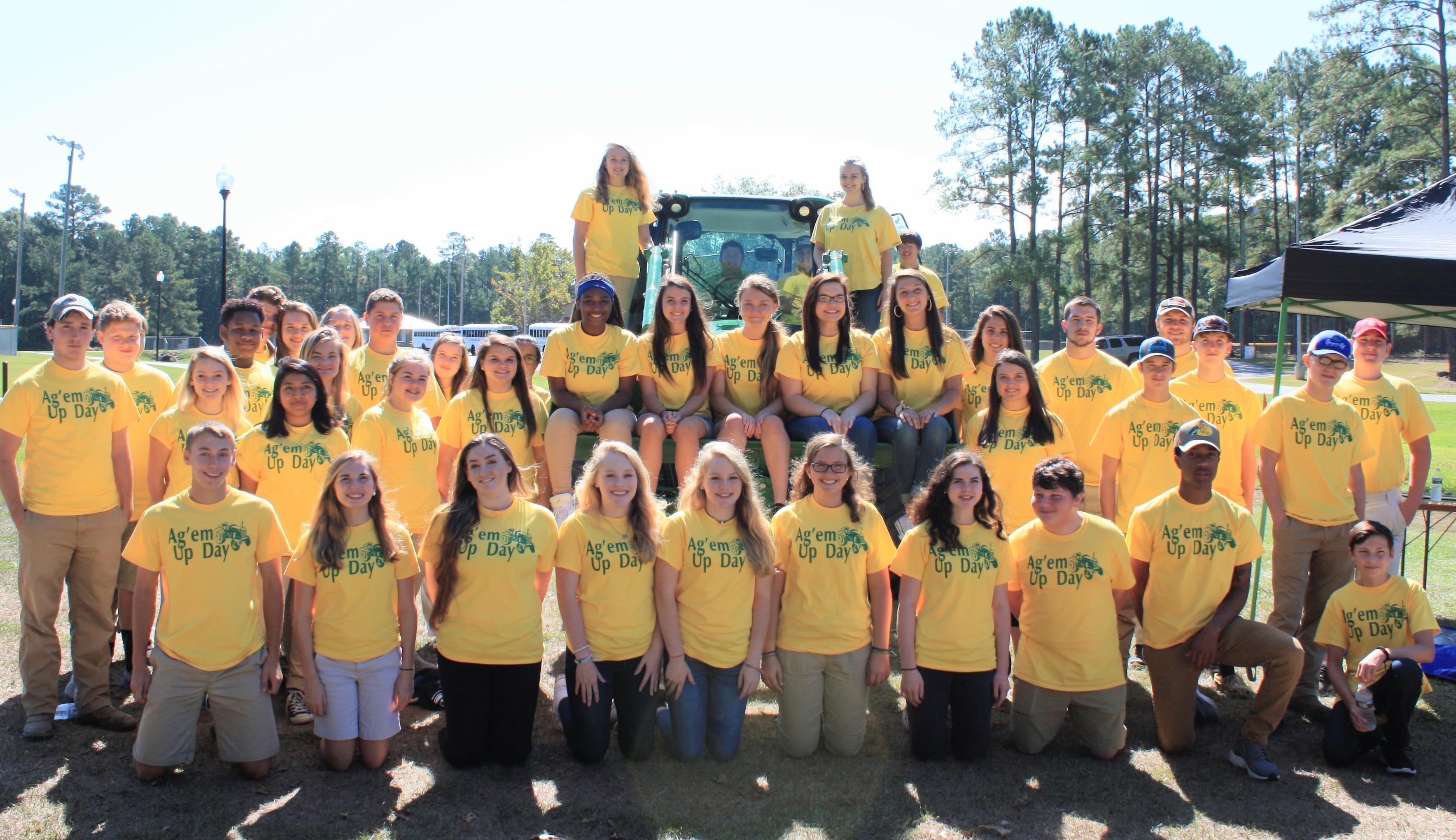 FFA at tractor