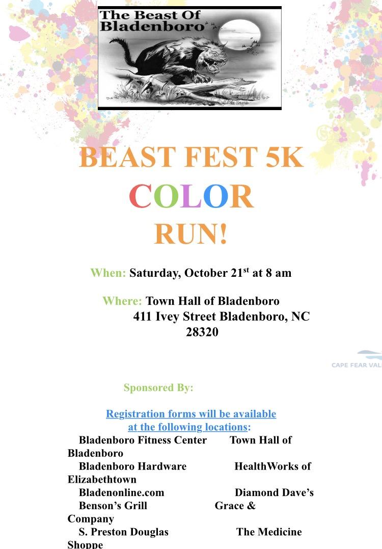Beast Fest 5K Color Run